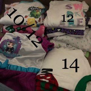 Other - Lot of girls pajamas